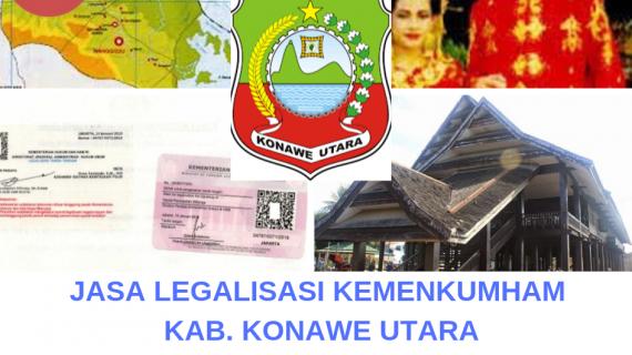 Jasa Legalisir KEMENKUMHAM di Kabupaten Konawe Utara || 08559910010