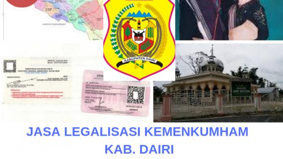 Jasa Legalisir Kemenkumham Di Kabupaten Dairi 08559910010 Jasa Legalisir Com