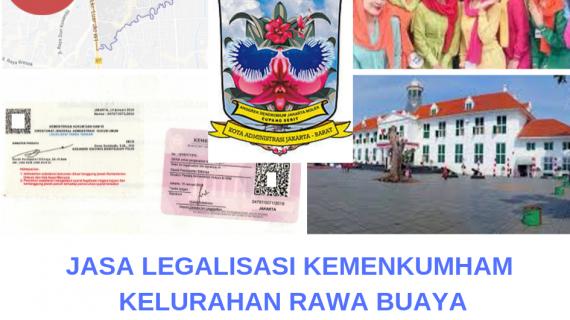 Jasa Legalisir KEMENKUMHAM di Rawa Buaya || 08559910010
