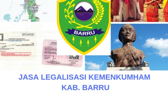 Jasa Legalisir KEMENKUMHAM di Kabupaten Barru || 08559910010