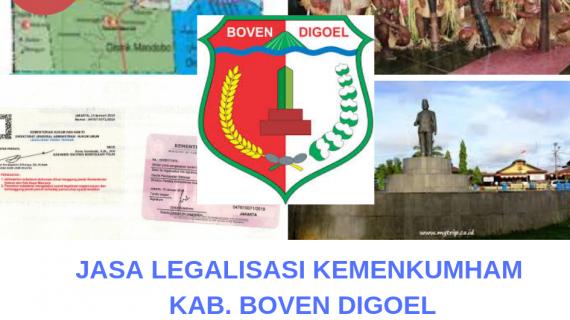 Jasa Legalisir KEMENKUMHAM di Kabupaten Boven Digoel || 08559910010