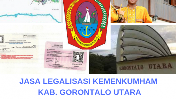 Jasa Legalisir KEMENKUMHAM di Kabupaten Gorontalo Utara || 08559910010