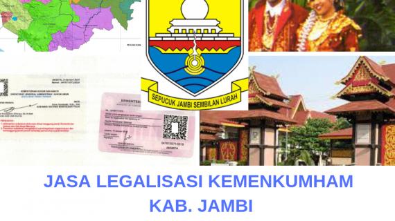 Jasa Legalisir KEMENKUMHAM di Kota Jambi || 08559910010