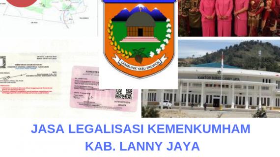 Jasa Legalisir KEMENKUMHAM di Kabupaten Lanny Jaya || 08559910010