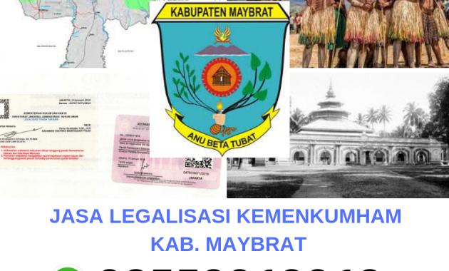 Jasa Legalisir Kemenkumham Di Kabupaten Maybrat 08559910010