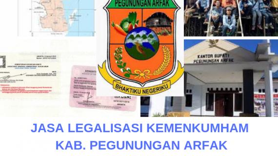 Jasa Legalisir KEMENKUMHAM di Kabupaten Pegunungan Arfak