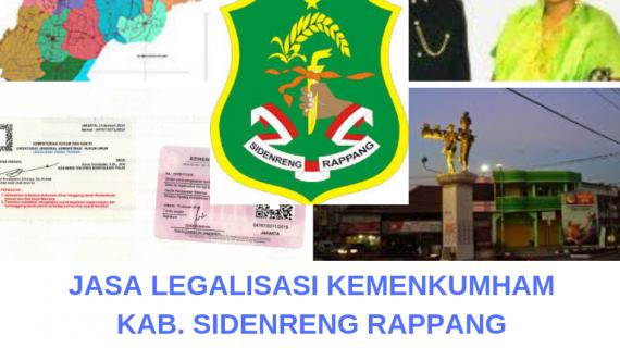 Jasa Legalisir KEMENKUMHAM di Kabupaten Sidenreng Rappang || 08559910010