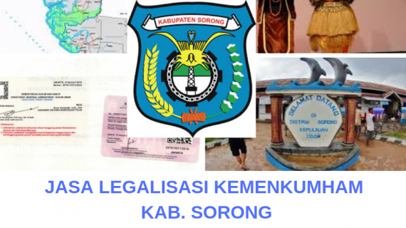 Jasa Legalisir KEMENKUMHAM di Kabupaten Sorong || 08559910010