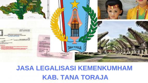 Jasa Legalisir KEMENKUMHAM di Kabupaten Tana Toraja || 08559910010