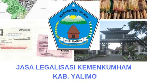 Jasa Legalisir KEMENKUMHAM di Kabupaten Yalimo || 08559910010