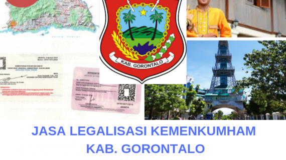 Jasa Legalisir KEMENKUMHAM di Kabupaten Gorontalo || 08559910010