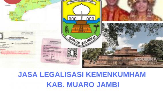 Jasa Legalisir KEMENKUMHAM di Kabupaten Muaro Jambi || 08559910010