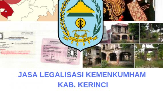 Jasa Legalisir KEMENKUMHAM di Kabupaten Kerinci || 08559910010