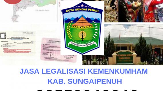Jasa Legalisir KEMENKUMHAM di Kota Sungaipenuh || 08559910010