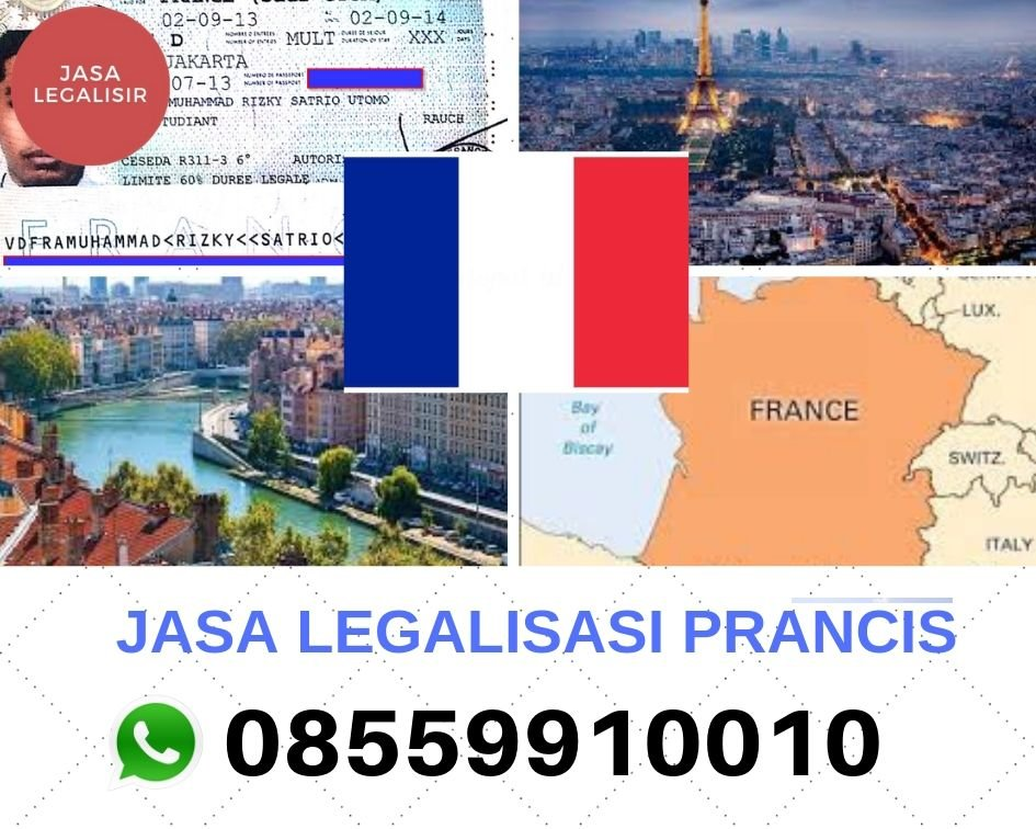 JASA LEGALISASI PRANCIS || 08559910010