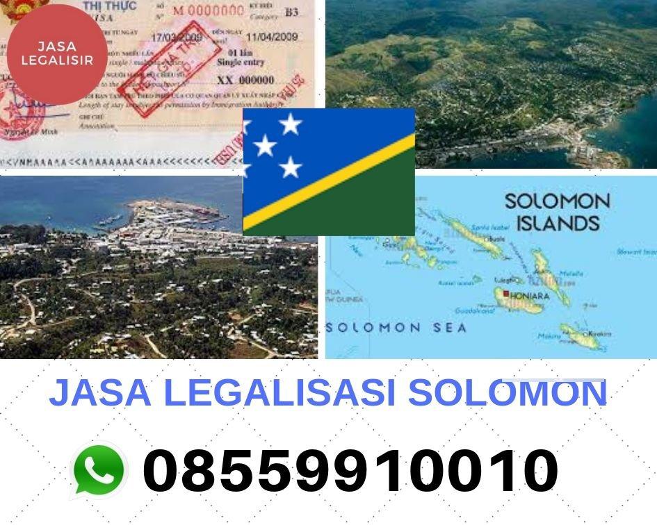 JASA LEGALISASI KEPULAUAN SOLOMON    08559910010