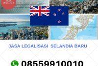 JASA LEGALISASI SELANDIA BARU || 08559910010