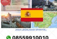 JASA LEGALISASI SPANYOL || 08559910010