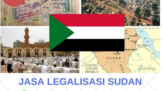 Jasa Legalisasi Sudan || 08559910010