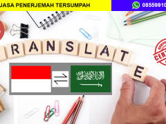 JASA PENERJEMAH TERSUMPAH INDONESIA - ARAB | 08559910010