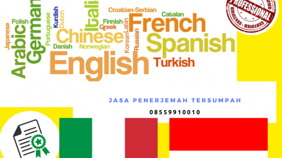 Jasa Penerjemah Tersumpah Bahasa Indonesia ke Bahasa Italia