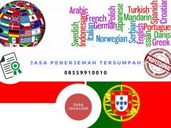 Jasa Penerjemah Portuguese || 08559910010