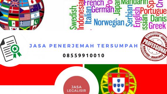 Jasa Penerjemah Tersumpah Bahasa Indonesia ke Bahasa Portuguese