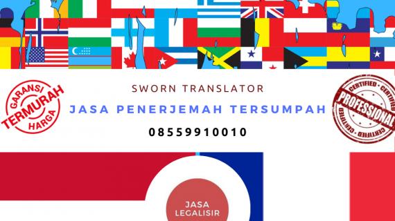 Jasa Penerjemah Tersumpah Bahasa Indonesia ke Bahasa Prancis