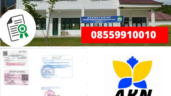 Jasa Legalisir Ijazah Akademi Komunitas Negeri Aceh Barat Di Kemenristek Dikti || 08559910010