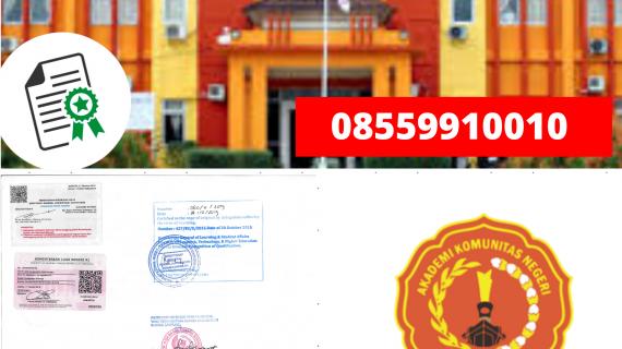 Jasa Legalisir Ijazah Akademi Komunitas Negeri Banyuasin Di Kemenristek Dikti || 08559910010