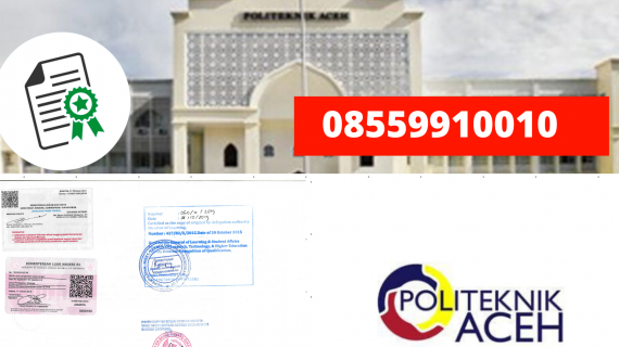 Jasa Legalisir Ijazah Politeknik Aceh Di Kemenristek Dikti || 08559910010