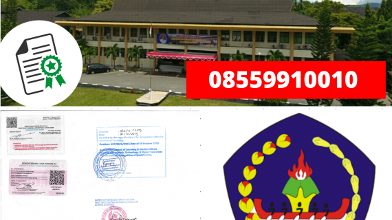 Jasa Legalisir Ijazah Politeknik Negeri Ambon Di Kemenristek Dikti || 08559910010