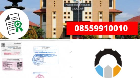 Jasa Legalisir Ijazah Politeknik Negeri Cilacap Di Kemenristek Dikti || 08559910010