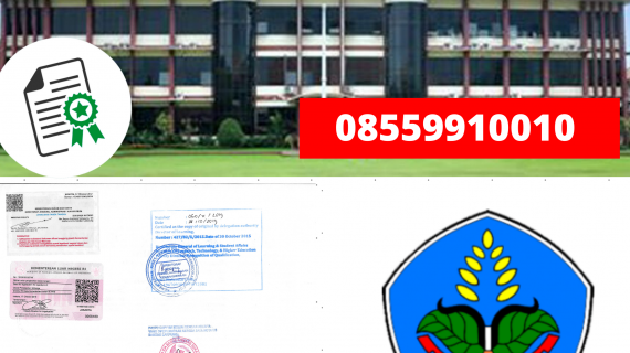 Jasa Legalisir Ijazah Politeknik Negeri Jember Di Kemenristek Dikti || 08559910010
