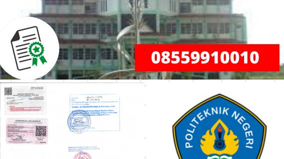 Jasa Legalisir Ijazah Politeknik Negeri Lampung Di Kemenristek Dikti || 08559910010