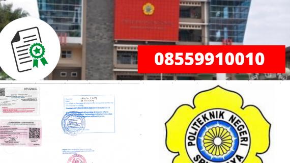 jasa legalisir ijazah politeknik negeri sriwijaya di kemenristek dikti 08559910010 jasa legalisir com jasa legalisir ijazah politeknik negeri