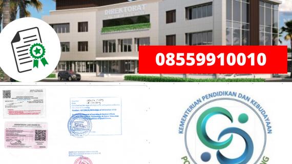 Jasa Legalisir Ijazah Politeknik Negeri Subang Di Kemenristek Dikti || 08559910010