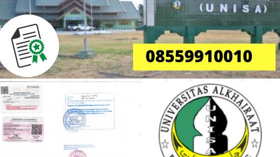 Jasa Legalisir Ijazah Universitas Alkhairaat Di Kemenristek Dikti    08559910010