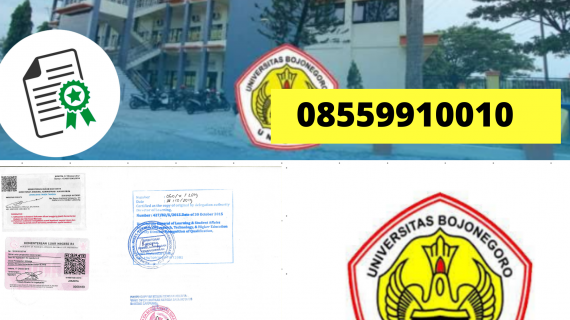 Jasa Legalisir Ijazah Universitas Bojonegoro Di Kemenristek Dikti || 08559910010