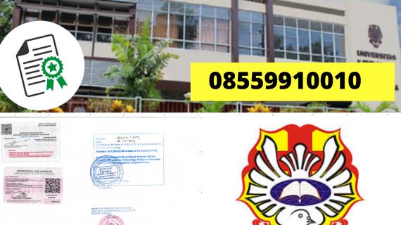Jasa Legalisir Ijazah Universitas Katolik Widya Mandala Madiun Di Kemenristek Dikti || 08559910010
