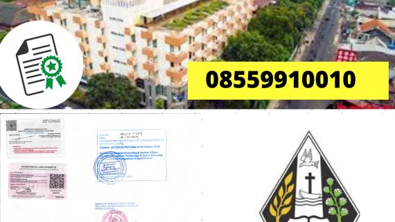 Jasa Legalisir Ijazah Universitas Kristen Duta Wacana Di Kemenristek Dikti || 08559910010