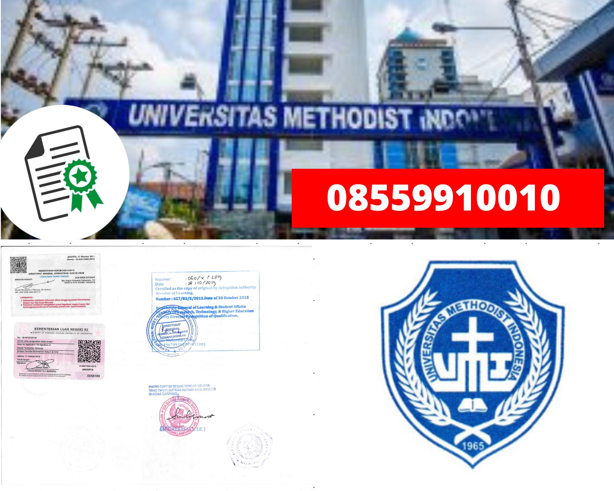 Legalisir Ijazah Universitas Methodist Indonesia Di Kemenristek Dikti || 08559910010
