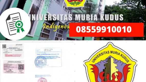 Jasa Legalisir Ijazah Universitas Muria Kudus Di Kemenristek Dikti || 08559910010