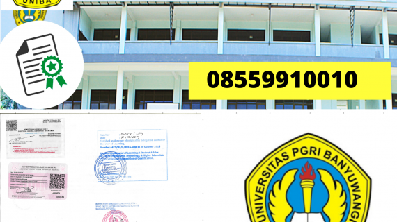 Jasa Legalisir Ijazah Universitas Pgri Banyuwangi Di Kemenristek Dikti || 08559910010