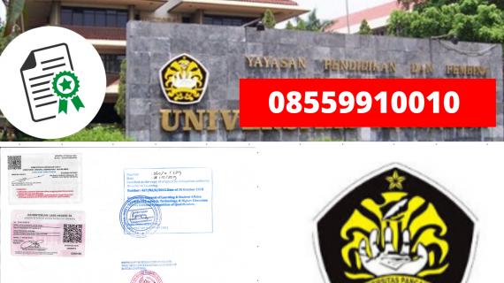 Jasa Legalisir Ijazah Universitas Pancasila Di Kemenristek Dikti || 08559910010