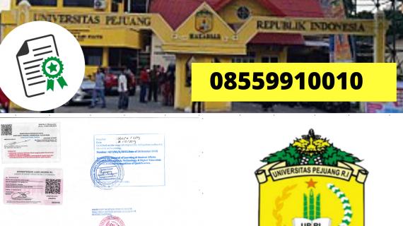 Jasa Legalisir Ijazah Universitas Pejuang Republik Indonesia Di Kemenristek Dikti || 08559910010