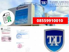 Legalisir Ijazah Universitas Tanri Abeng Di Kemenristek Dikti    08559910010