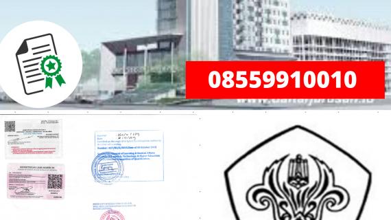 Jasa Legalisir Ijazah Universitas Tarumanagara Di Kemenristek Dikti || 08559910010