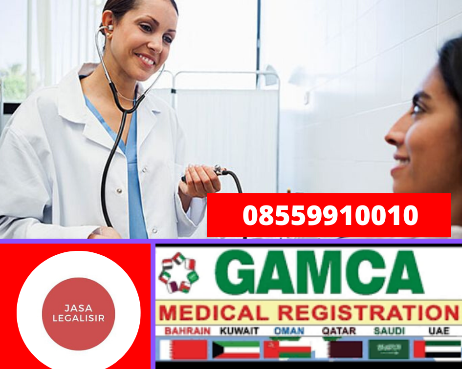 Legalisir Medical GAMCA || 08559910010