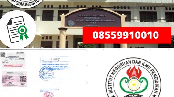 Jasa Legalisir Ijazah Institut Keguruan Dan Ilmu Pendidikan Gunung Sitoli Di Kemenristek Dikti || 08559910010